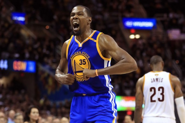 Kevin Durant could dethrone King James.