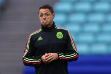 """Javier """"Chicharito"""" Hernandez prepares for the Mexico-Germany matchup"""