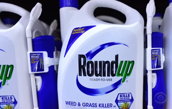 Weed killer ingredient going on California list as cancerous