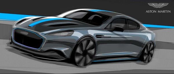 Aston Martin to release its first all-electric vehicle in 2019