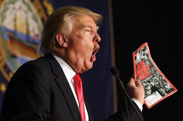 TIME tells Trump to dump his fake magazine covers from golf resorts