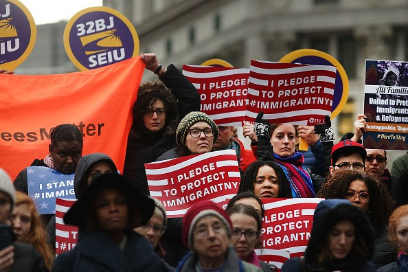 """Self-identified """"sanctuary cities"""" vow to fight against President Trump's threat to withhold federal funding."""