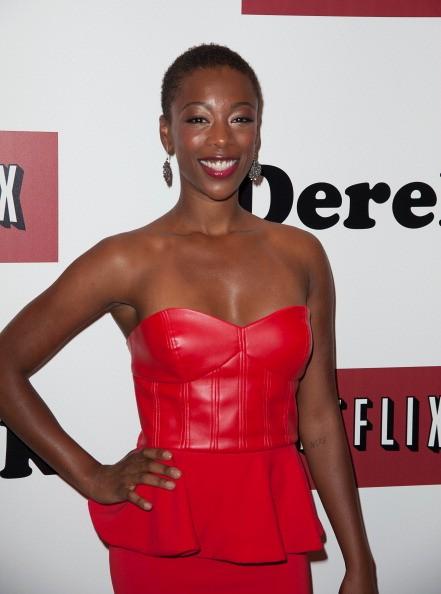 Samira Wiley attends 'Derek' New York Premiere at MOMA on September 5, 2013 in New York City.
