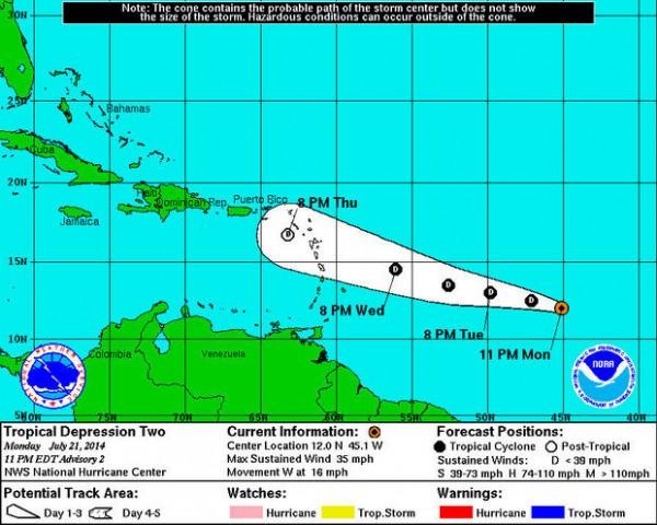 Tropical Depression 2
