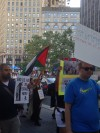 National Day of Action, NY Gaza Solidarty Rally, July 24, 2014