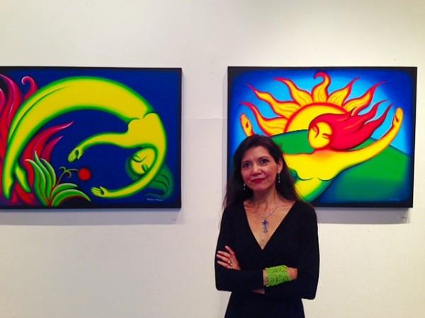 Award-Winning Artist Andrea Arroyo