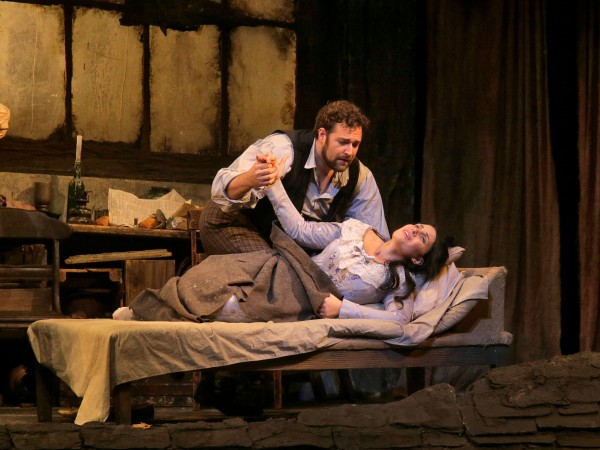 "Sonya Yoncheva (pictured with Bryan Hymel) was a tremendous success in ""La Boheme."""