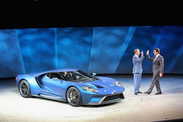 ford gt supercar 2015 detroit auto show pic