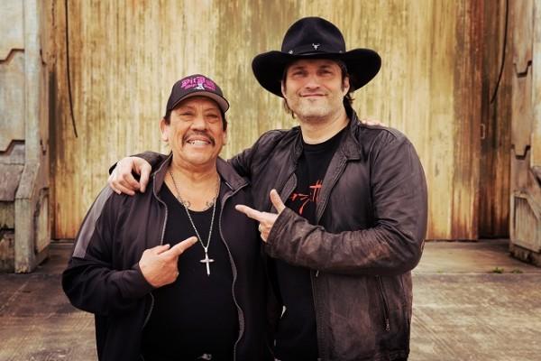 Danny Trejo and Robert Rodriguez