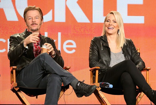 David Spade and Brittney Daniel