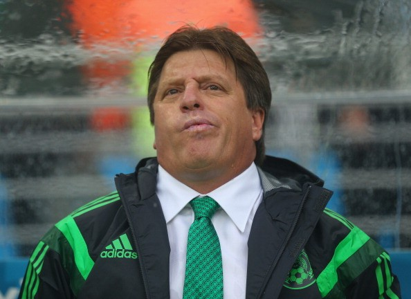 Mexican National Team Head Coach Miguel Herrera