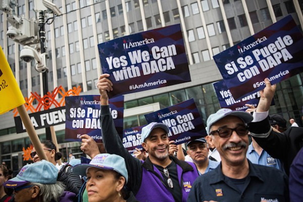 DAPA DACA immigrants immigration protests