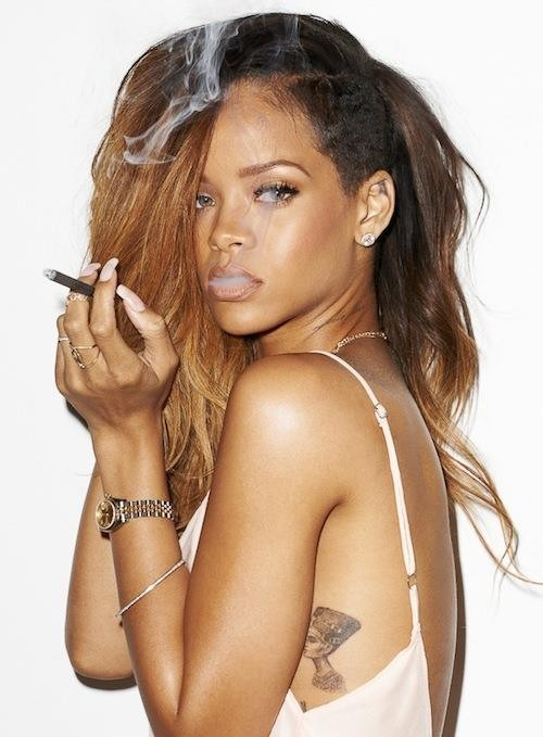 Rihanna x Terry Richardson Shoot