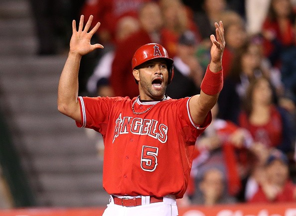 Los Angeles Angels of Anaheim Infielder Albert Pujols