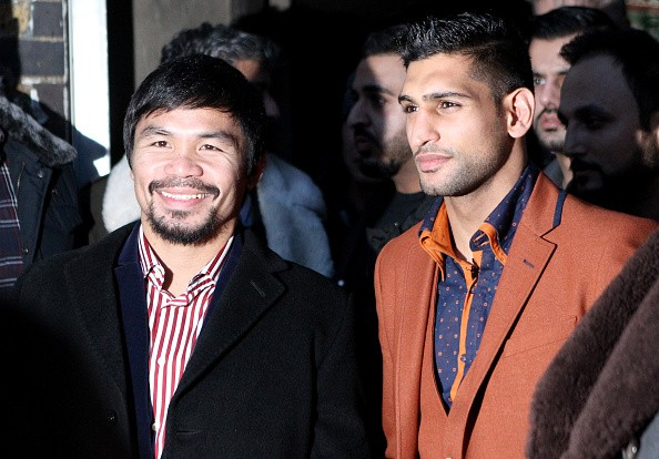 Manny Pacquiao & Amir Khan Hold Discussions About Possible Fight