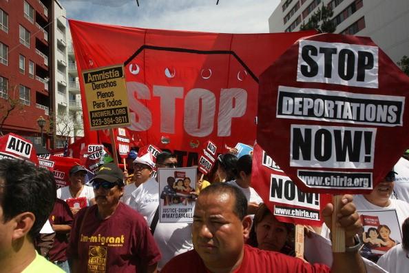 Deportations immigrant immigration