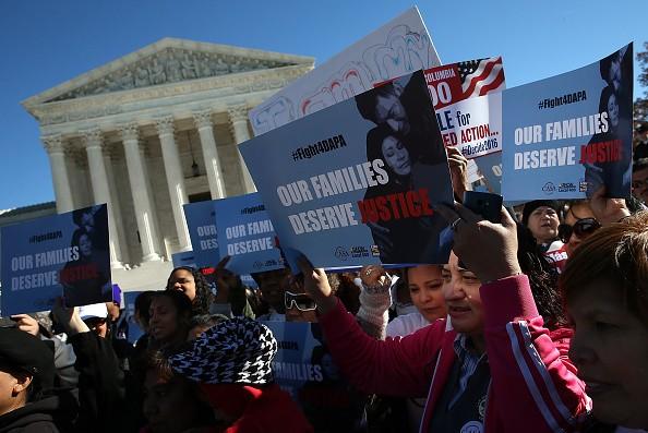immigration reform protest supreme court DAPA DACA