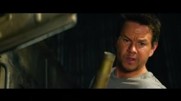 "Mark Wahlberg stars in the newest Transformers Film titled, ""Transformers 4: Age of Extinction"""