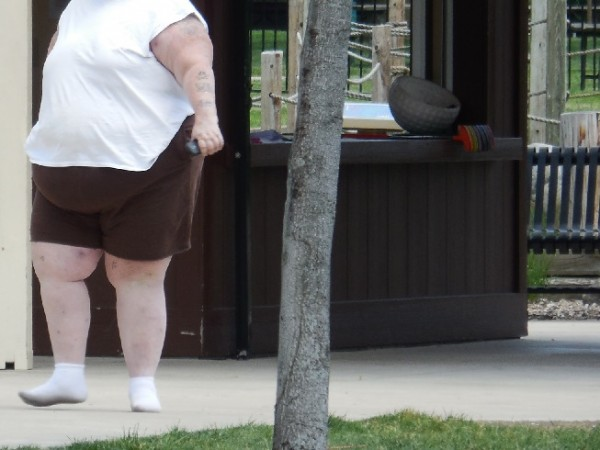 Overweight and underweight people share similar risk of death.