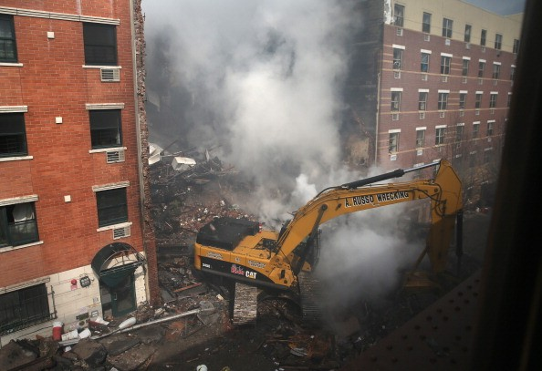 East Harlem Explosion Aftermath