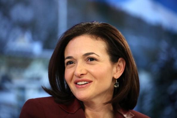 Sheryl Sandberg At The Davos World Economic Forum 2014